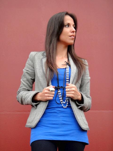 Outfit blazer marca MANGO en blog de moda Desde el Trópico