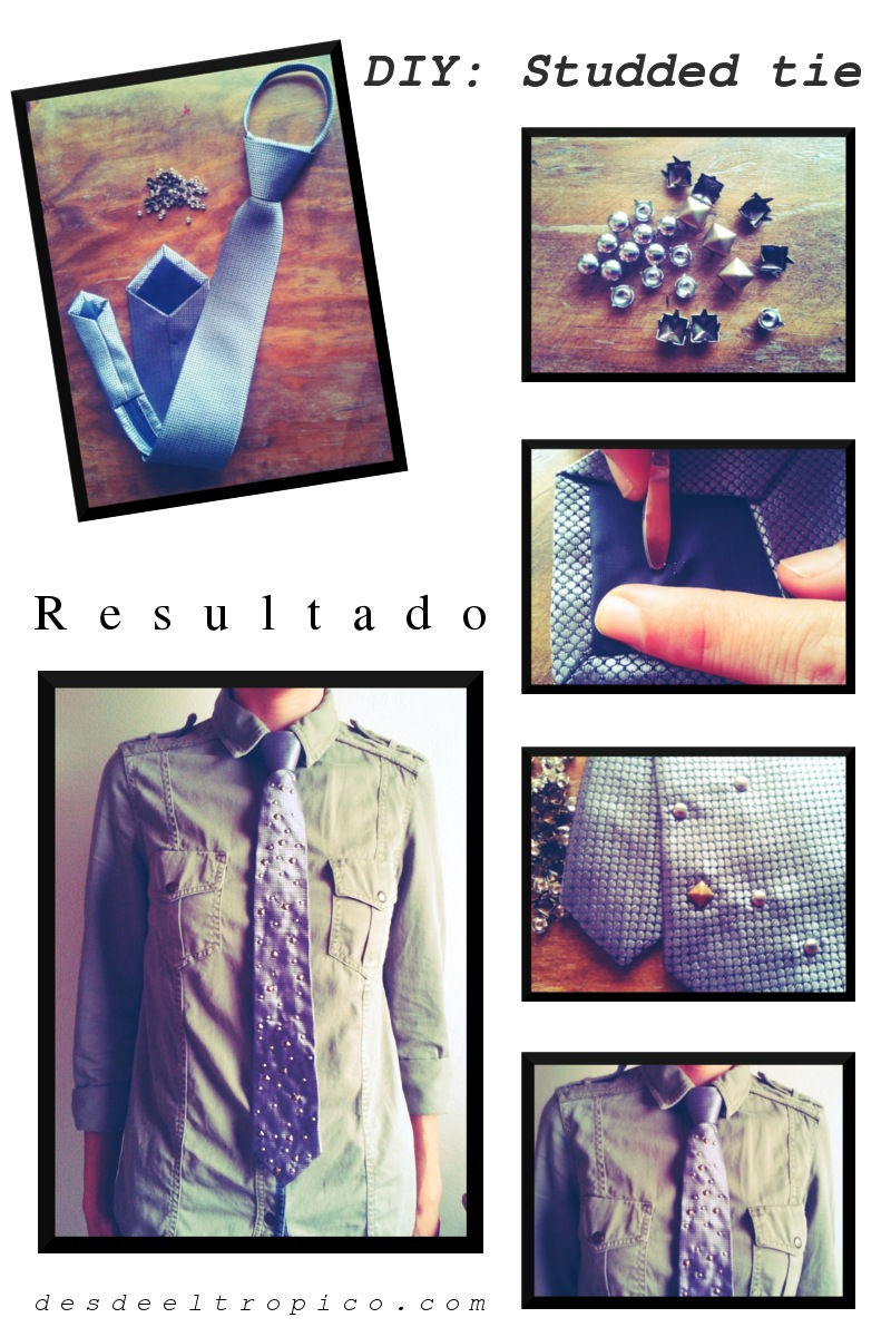 DIY-corbata-con-tachas-en-blog-de-moda-Desde-el-Trópico