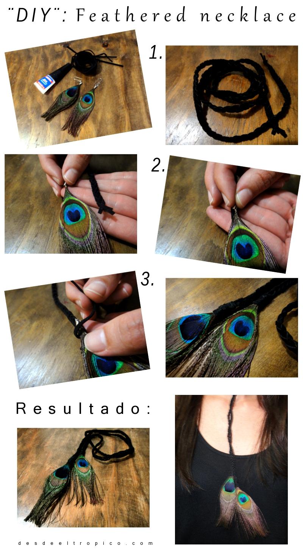 DIY-de-moda-:-collar-con-plumas-en-blog-de-moda-Desde-el-Trópico