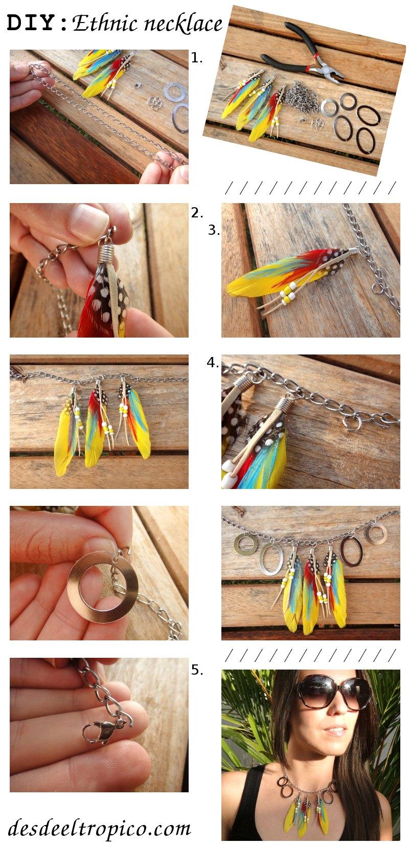 DIY-moda-collar-étnico-con-plumas-en-el-blog-de-moda-y-personal-style-Desde-el-Trópico