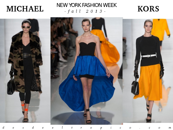 New York Fashion Week otoño-invierno 2013: Michael Kors