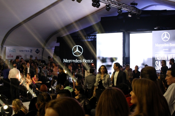 Mi look en la inauguraci n del mercedes benz fashion week for Mercedes benz in san jose