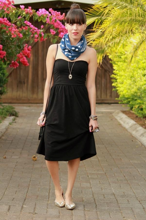 Looks vestido negro casual u2013 Vestidos destacados