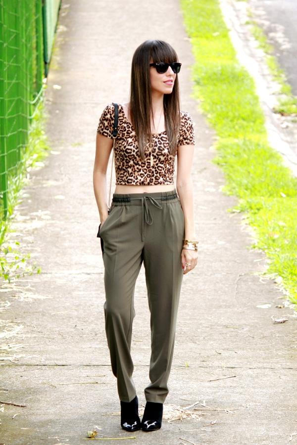 Estampado de leopardo y verde militar - Blog de Moda Costa Rica - Fashion Blog