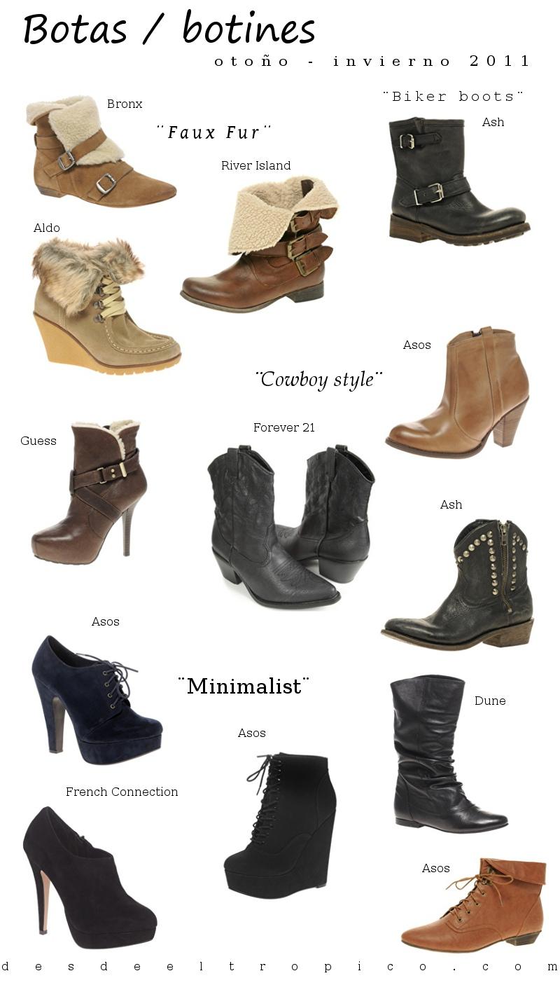 921e341ea2d Moda zapatos otoño invierno 2011  botas y botines. - Blog de Moda ...