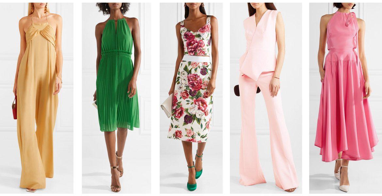 8795cd667 cómo vestirse para una boda en la mañana.  opciones de look con vestido