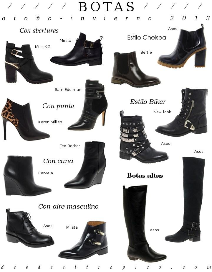 4e49a4ee0 Moda en botas y botines -otoño-invierno 2013- Blog de Moda Costa ...
