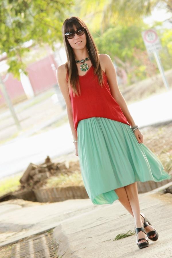 79872c7f3 Rojo y menta... - Blog de Moda Costa Rica - Fashion Blog