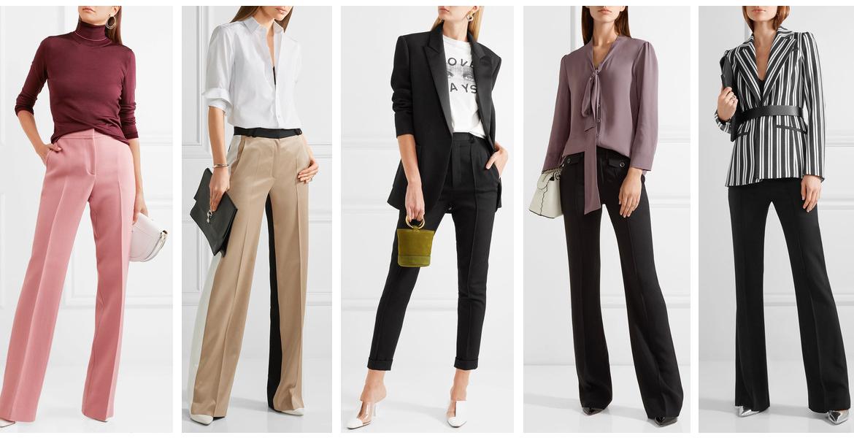71cab0ee9 Cómo vestirse para una defensa de tesis  looks con pantalones