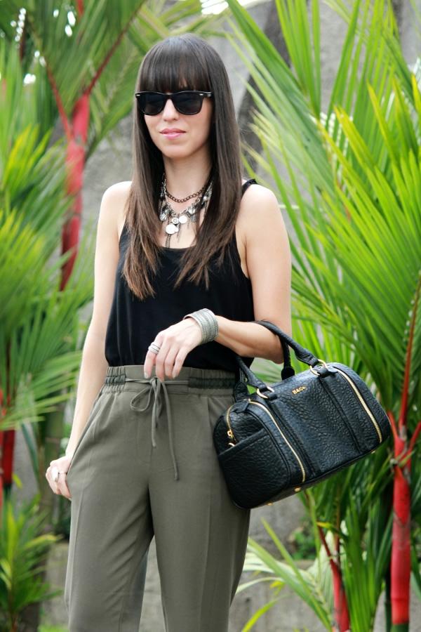 Pantalones Verde Militar Y Negro Blog De Moda Belleza Y Estilo De Vida