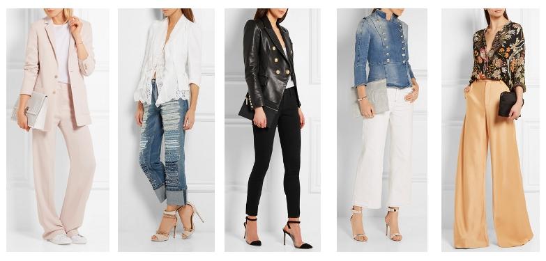 2847d11ed Cómo vestirse para un fashion week  looks con pantalones