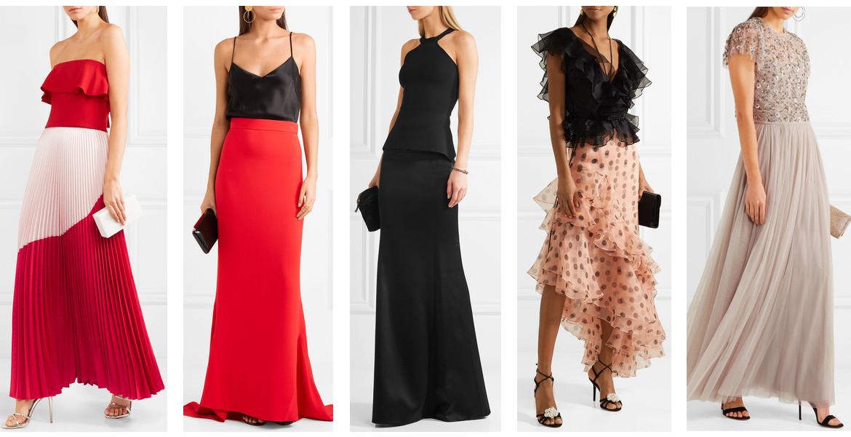 269f79ead6 cómo usar looks con falda para una fiesta de cóctel. muy formal