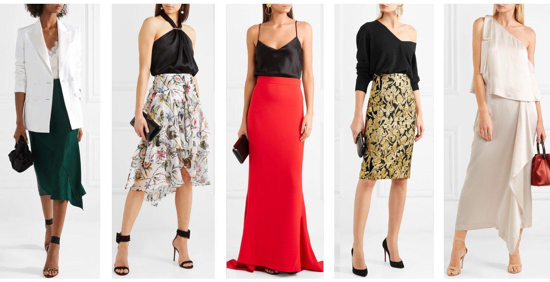 d052b855f Cómo usar looks con falda para una fiesta de cóctel