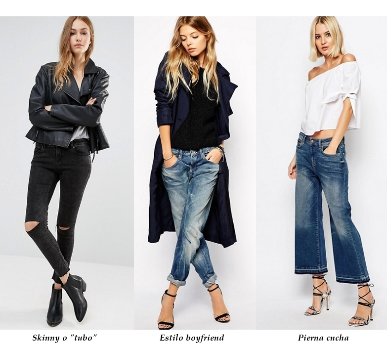 Los mejores estilos de jeans para cada tipo de cuerpo 81b48adedf88
